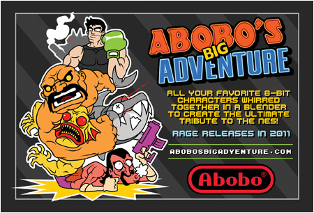 Learn more about Abobo's Big Adventure at abobosbigadventure.com