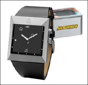 The Atari Asteroids Watch! - by Fossil