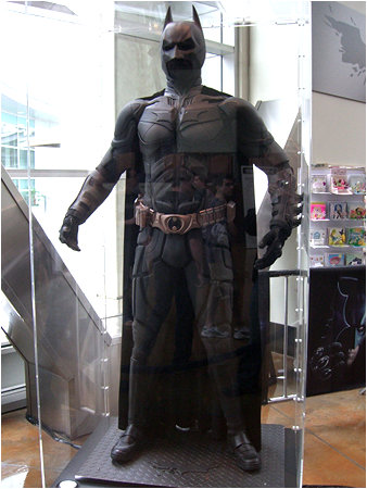 The Dark Knight himself. Quite the complex Batsuit, eh?