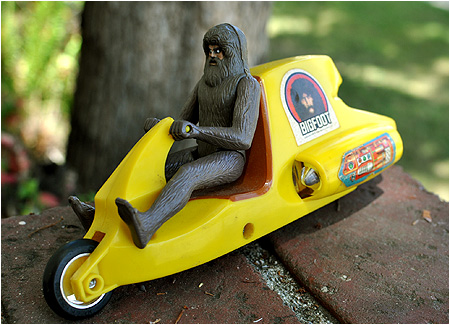 Bionic Bigfoot from the Six Million Dollar Man dual launch drag race set!