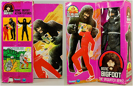 Bionic Bigfoot: The Sasquatch Beast from The Six Million Dollar Man