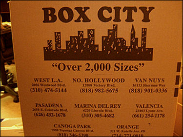 Where do you go for all your box needs? BOX CITY!