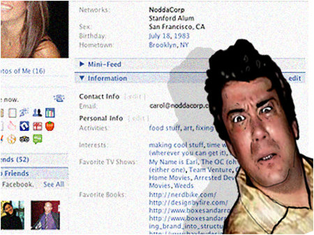 FACE it... it's not FACEbook until it has your FACE all over it.