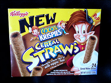 Cereal Straws... they're strAWESOME!