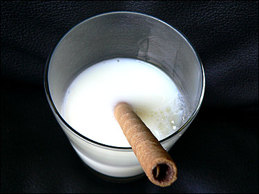 Hey! Who put out their cigar in my milk!?