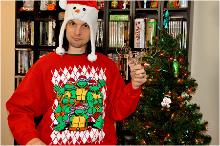 This holiday season, I celebrate Christmas with Turtle Power!