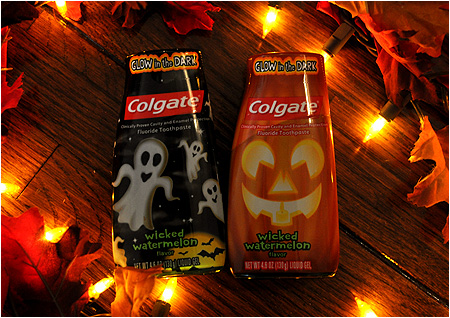 Colgate 'Wicked Watermelon' Halloween Toothpaste!