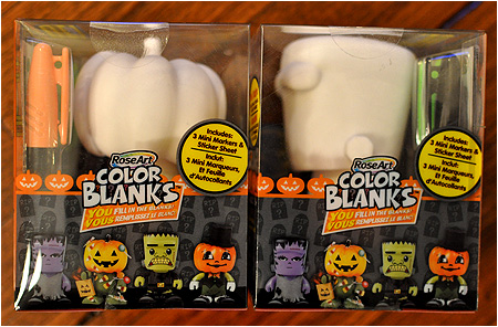 Halloween Edition Color Blanks - Jack-O-Lantern and Frankenstein's Monster!