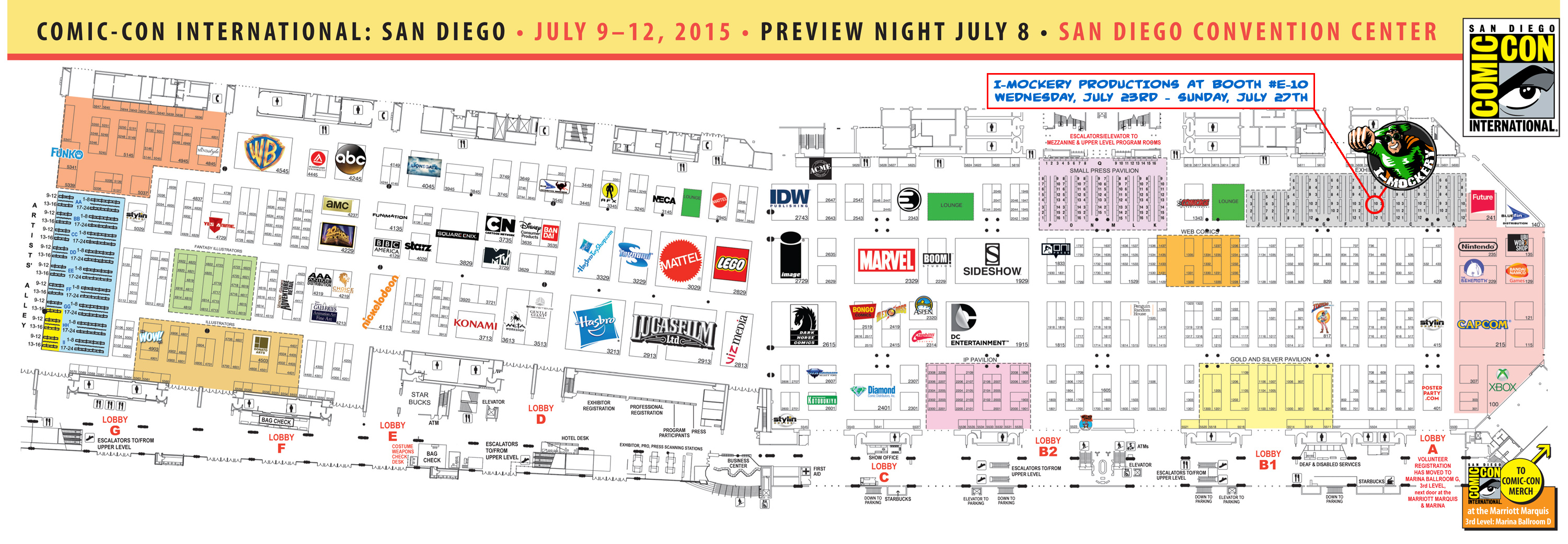 IMockery At The San Diego ComicCon July Th Th Come - Map of san diego in the us