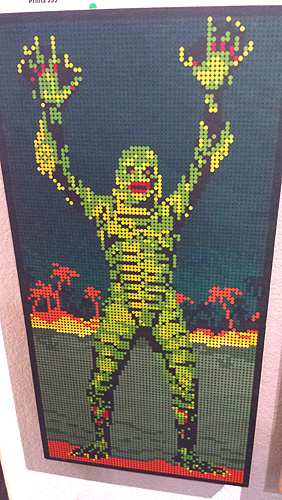 The Creature from the Black Lagoon's 60th anniversary group art show