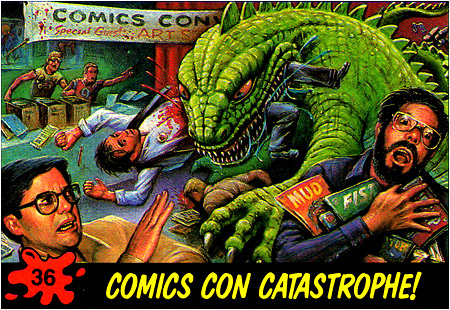 This could be you! Dinosaurs Attack Comic-Con!