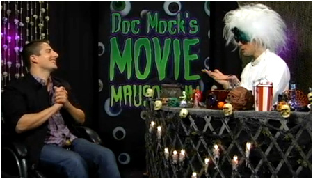 The latest Halloween episode of Doc Mock's Movie Mausoleum airs tonight!