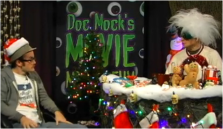 The Doc Mock's Movie Mausoleum Christmas Holiday Special airs tonight!