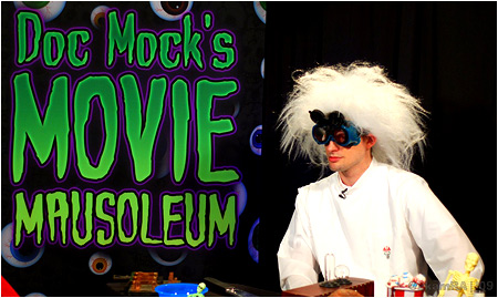 The last episode of Doc Mock's Movie Mausoleum until early-mid September airs tonight!