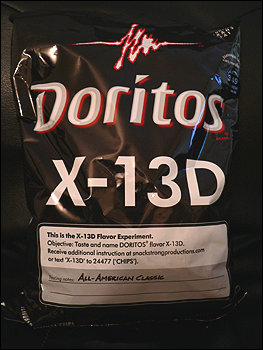 The Doritos Flavor for the X-Files fan!