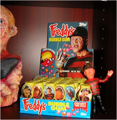 Freddy's Bubble Gum display box. Welcome to Wonderland, Alice!