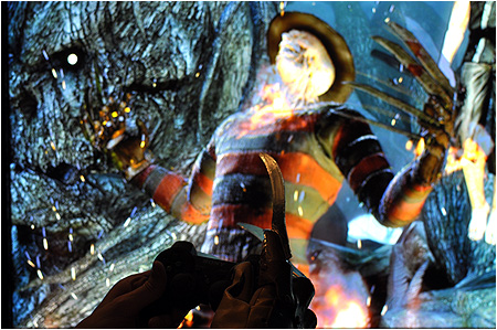 Freddy Krueger in Mortal Kombat? This must be a nightmare... er... dream come true!