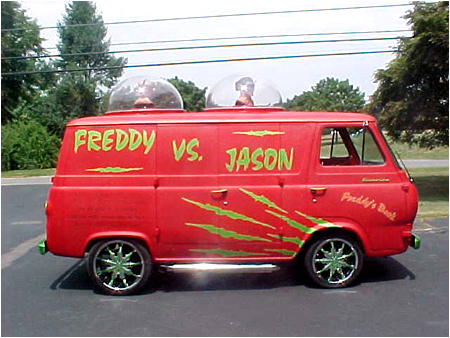 If Freddy Krueger and Jason Voorhees get you in their van, you're not gonna amount to JACK SQUAT!