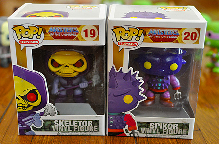 Enter I-Mockery's new Funko POP! Vinyl Skeletor and Spikor toy giveaway!