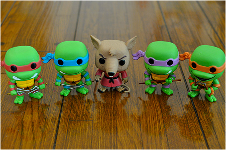 Funko POP! Vinyl Teenage Mutant Ninja Turtles figures! TMNT!