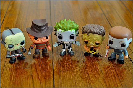 Funko POP! Vinyl Horror Movie Monster figures!