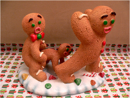 Only YOU can prevent gingerbread rape.