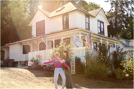 The original Goonies house gives me the strange urge to get into the real estate business.