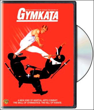 Truly a thing of beauty, it is. GYMKATA ON DVD!