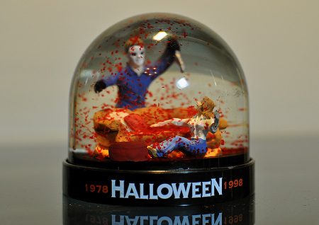 The Michael Myers Snow Globe!