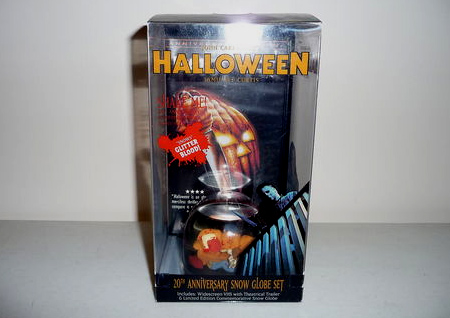 The 20th Anniversary Halloween VHS Snow Globe Set!