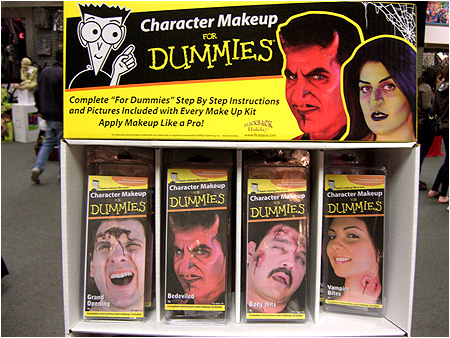 Halloween Character Makeup for Dummies.