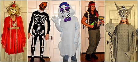 Our Halloween costumes from 2010!