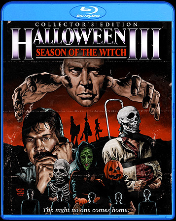 The Halloween III: Season of the Witch Collector's Edition Blu-ray poster art!