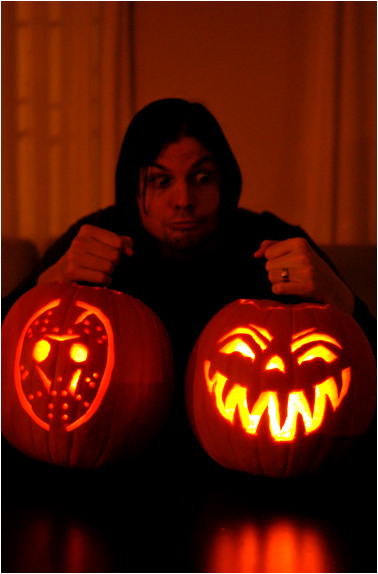 Our Jack-O-Lanterns for the 2010 Halloween season!