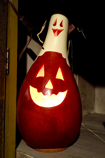 Halloween Gourd Lamp RULES!