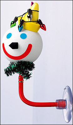 The 2007 Jack In The Box 'Holiday Jack' Antenna Ball!