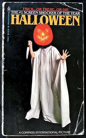 The Halloween movie adaptation paperback novel!