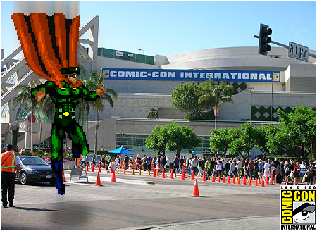 I-Mockery will be landing at the 2014 San Diego Comic-Con this July! Hope you'll be showing up too!