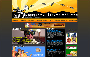 Newgrounds acquires I-Mockery to form 'I-Grounds'