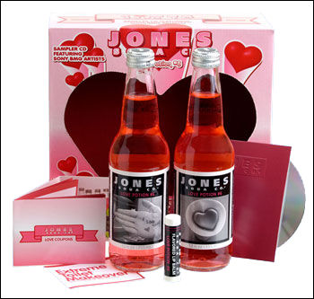 Jones Soda Valentine's Day packs!
