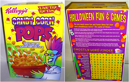 Because you've always wanted to eat Candy Corn for breakfast...