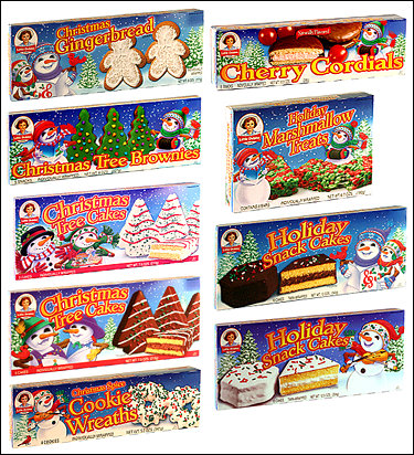 Damn, Little Debbie! You've been busy!