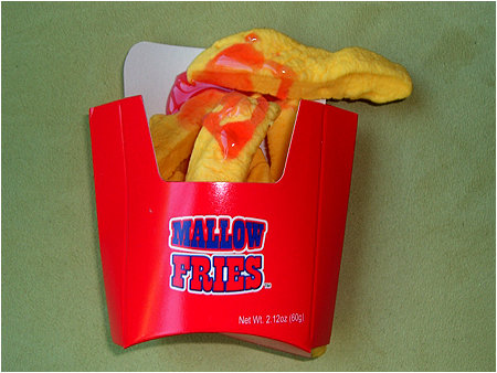 Mallow Fries. It's like a cruel joke on your taste buds.