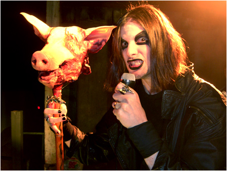 Mayhem - a band who simultaneously mastered black metal and bacon.