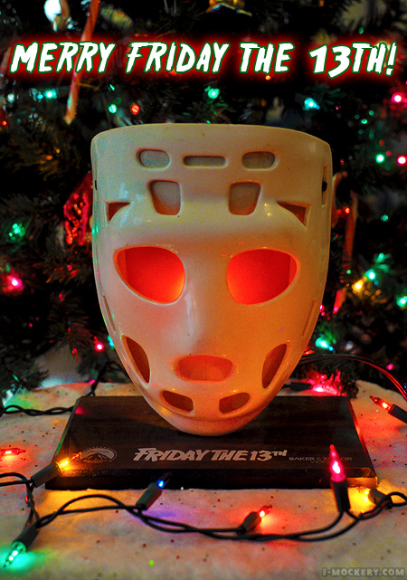 Merry Friday The 13th! Jason Voorhees loves Christmas!