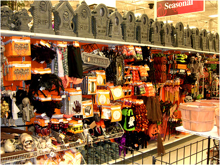 michaels is ready for halloween the 2010 spooky town. Black Bedroom Furniture Sets. Home Design Ideas