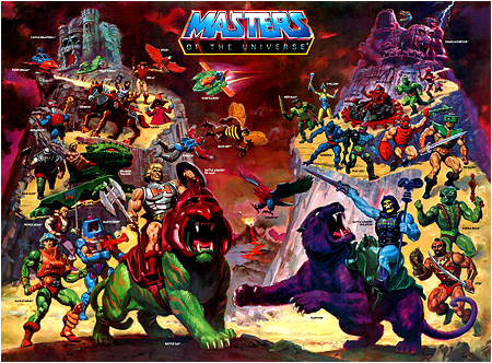 The greatest He-Man and the Masters of the Universe poster ever? I think so. Well done, William George.