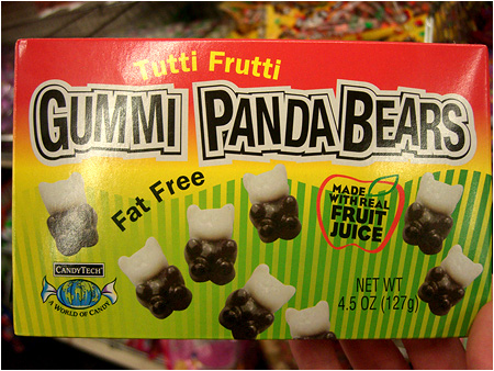 Who wouldn't want to eat a panda?