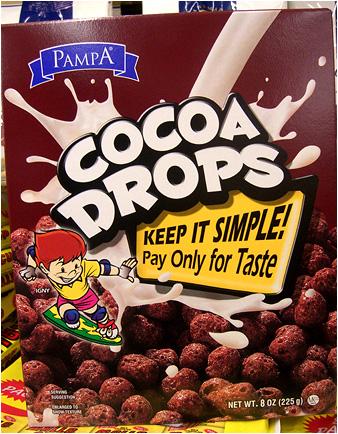 Hey kids! Who wants poop cereal for breakfast?