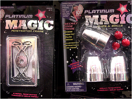 Uh oh, it's magic!